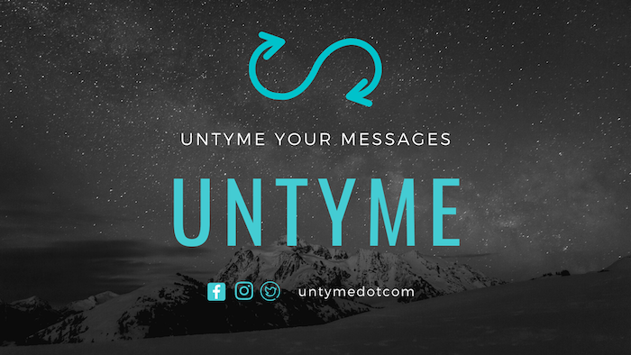 Untyme – Creating recurring messages